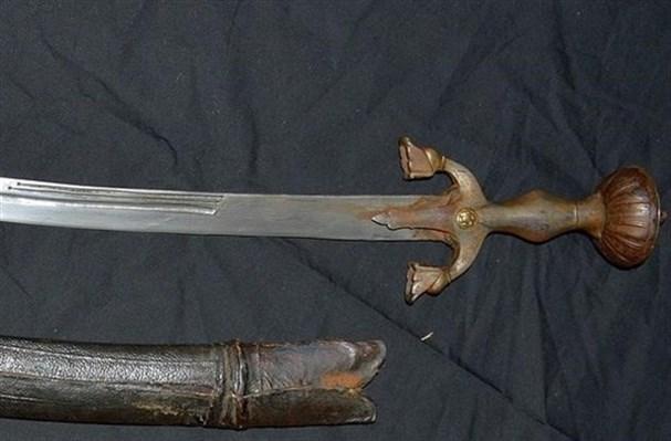 Только высокопоставленные люди использовали мечи