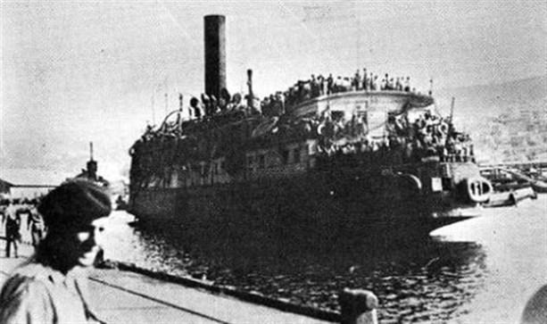 Правительство создало поддельную террористическую группу для бомбардировки еврейских судов-беженцев после Холокоста