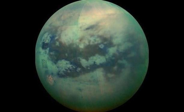 Колонии у метановых озер Титана