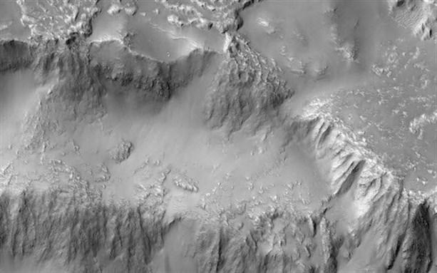 У Марса есть свои водопады