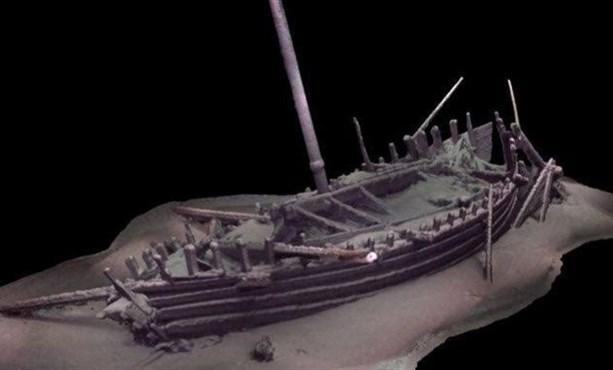 Корабль двухтысячелетней давности