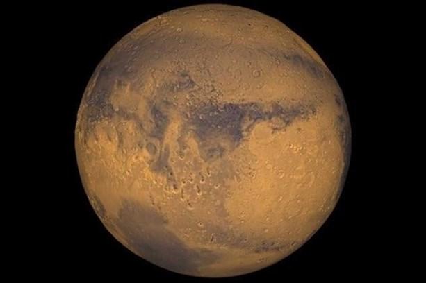 На Марсе есть вода