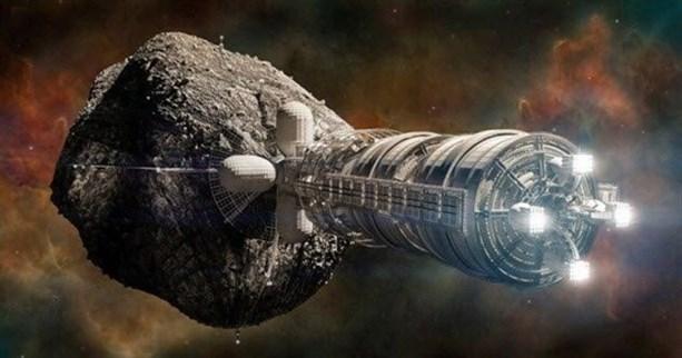 Добыча колоний внутри астероидов