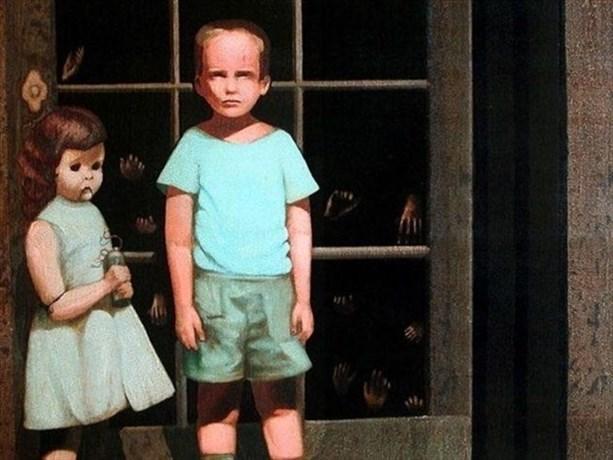 Кукла в картине