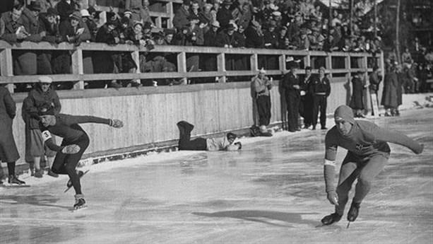 Шарль де Линь, Конькобежный спорт