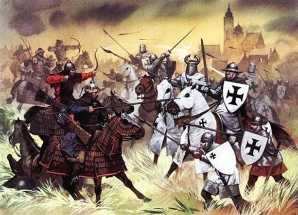 Монгольская Орда против европейских рыцарей