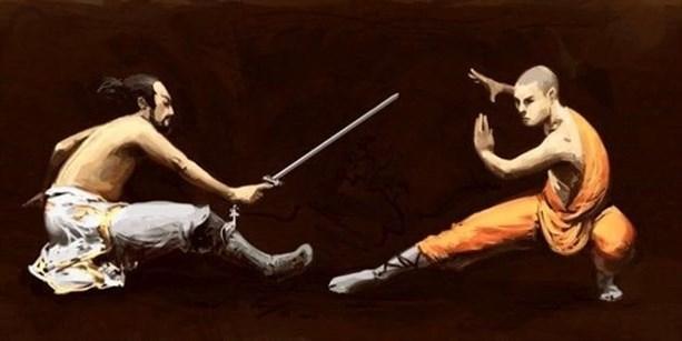 Монахи-воины против самураев