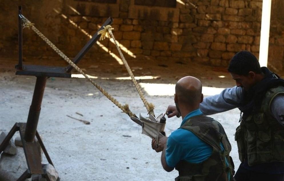 Катапульты и требушеты в сирийской гражданской войне