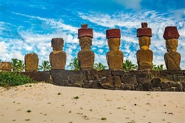 Остров Пасхи Моаи
