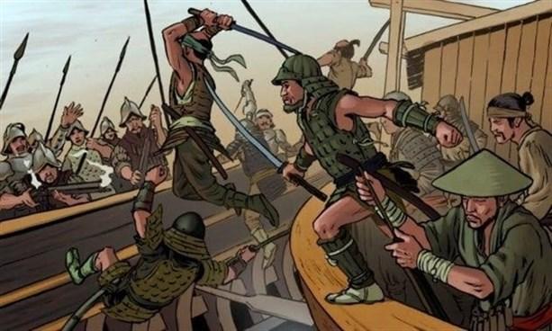 Японские самураи против испанских конкистадоров