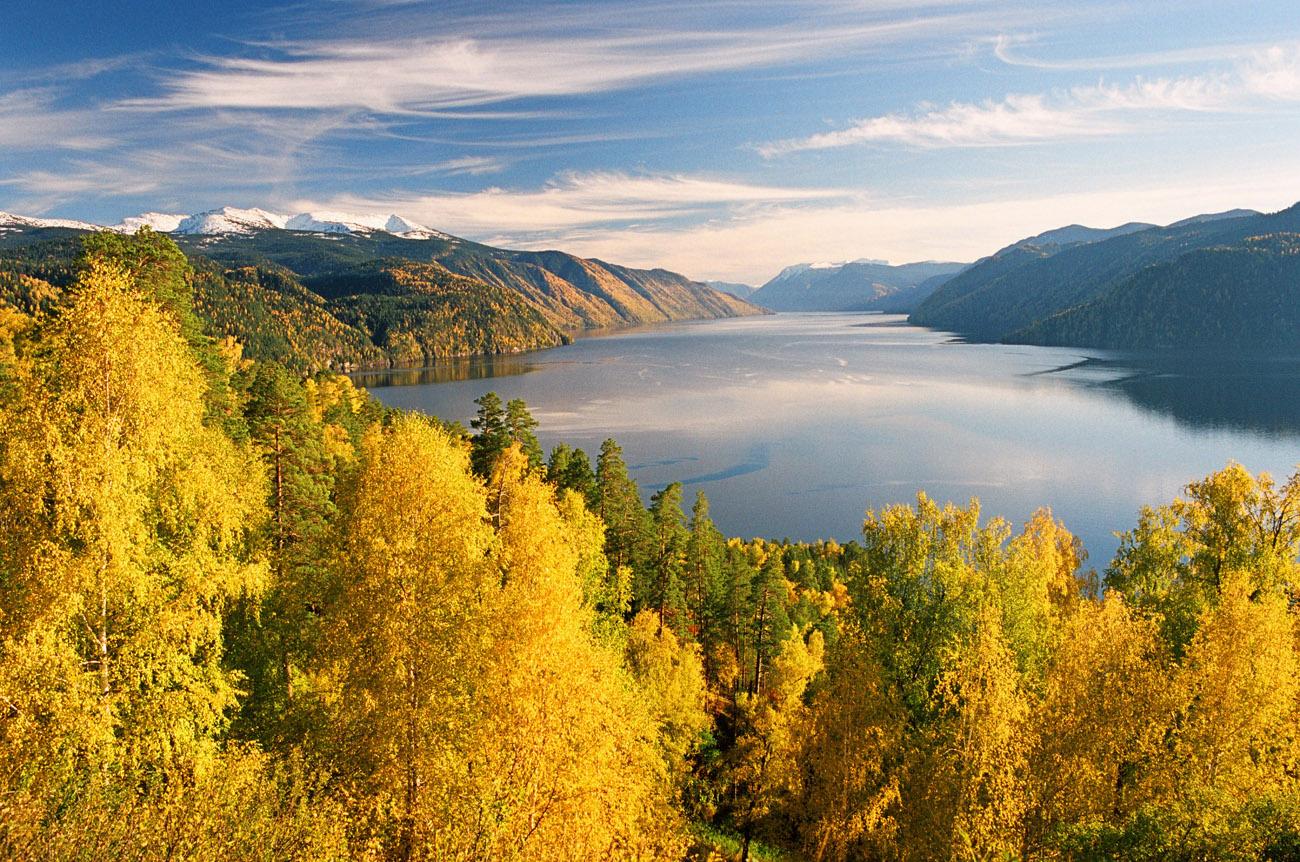 Телецкое озеро, фото, Алтай, красота, достопримечательности, ЮНЕСКО