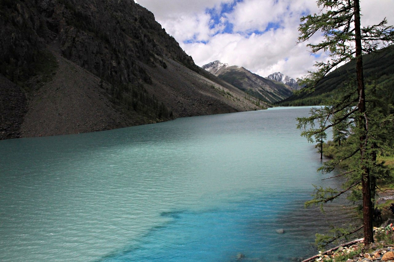 Нижнее Шавлинское озеро, фото, Алтай, ЮНЕСКО