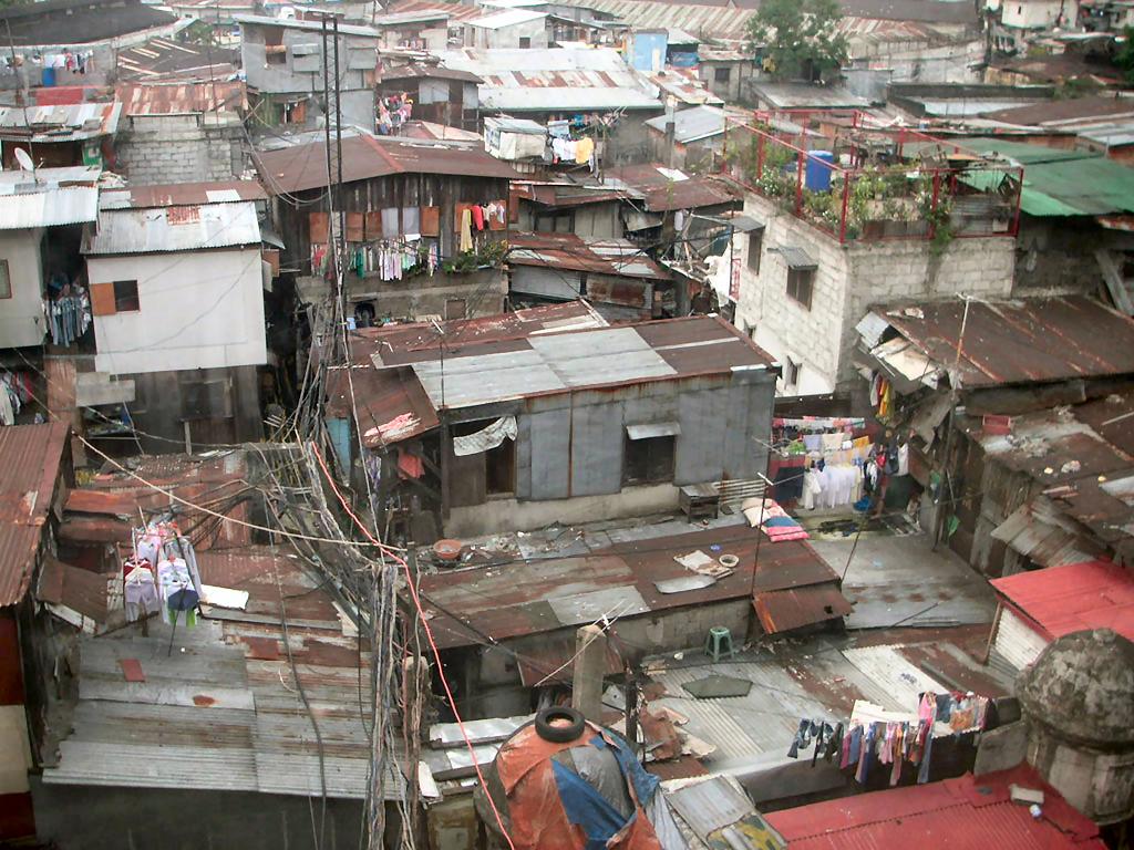 трущобы Филипины