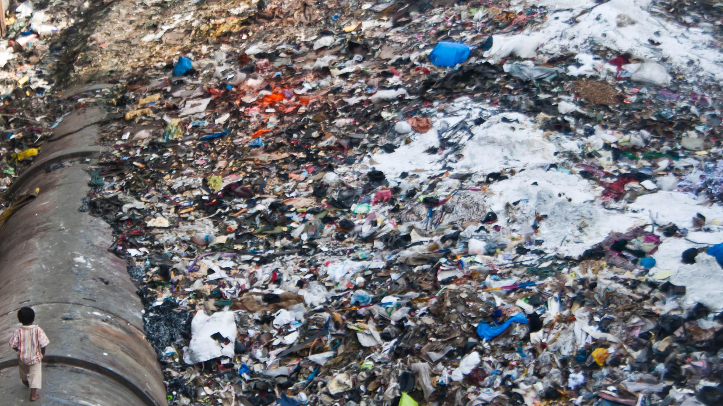 трущобы Мумбая, Индия