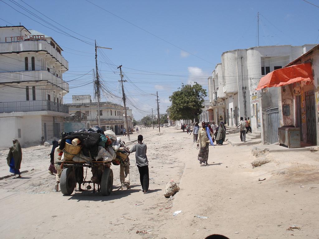 трущобы Сомали