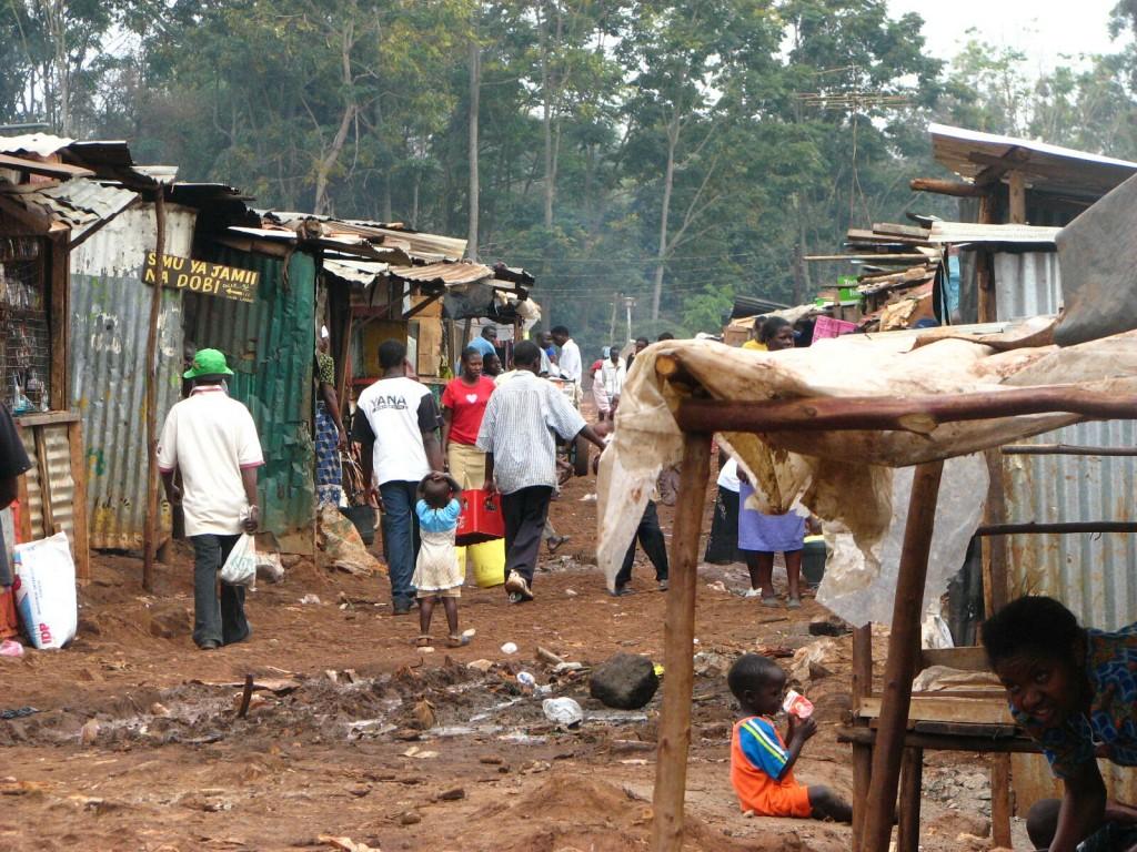 трущобы Африки