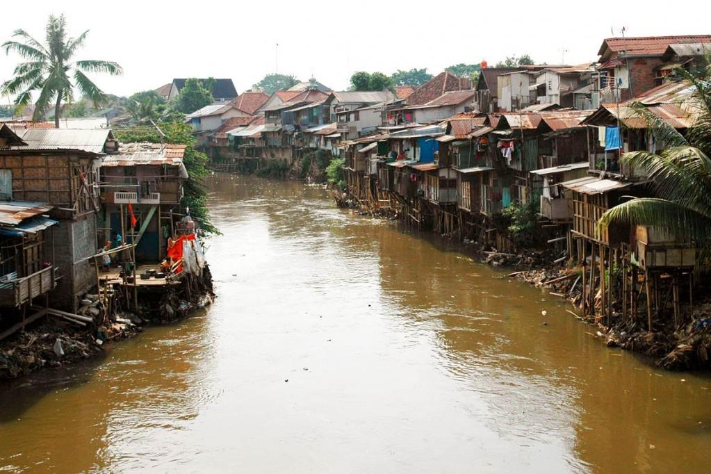 трущобы Индонезии