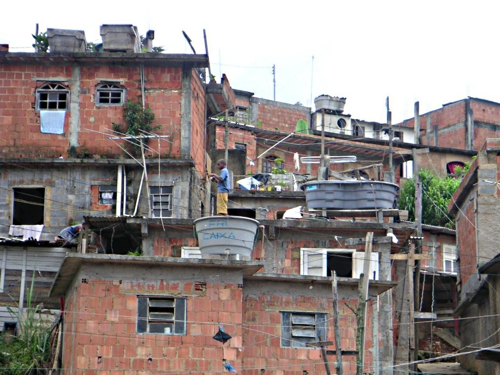 трущобы Бразилии, фото