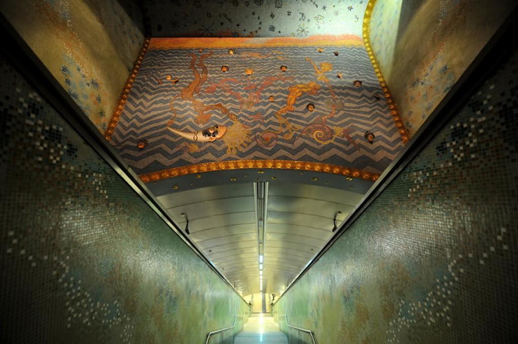 произведения искусства в метро