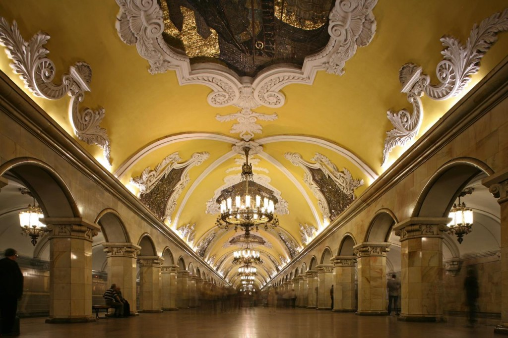 красивое метро в москве