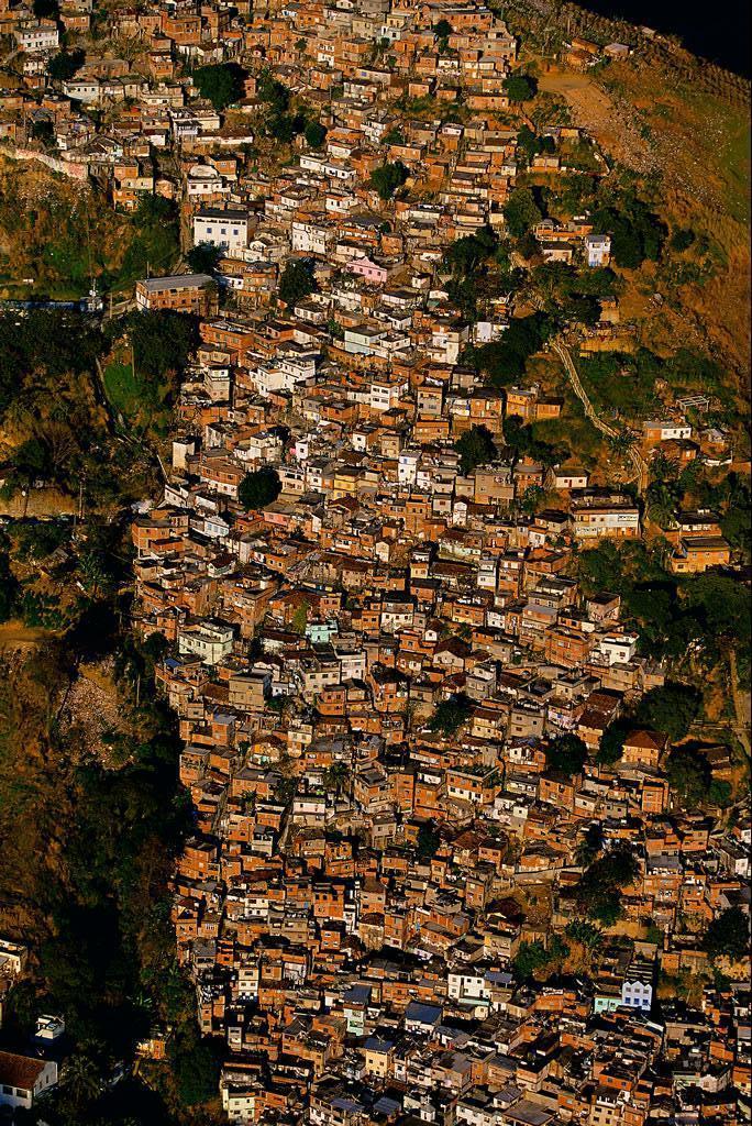 бразилия, рио-де жанейро, трущобы