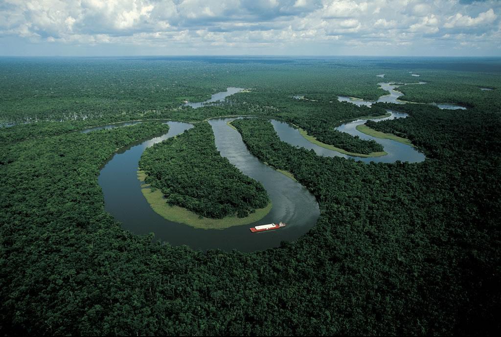 река, амазонка