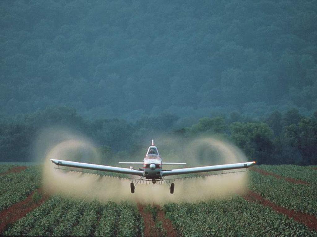 химизация, пестициды, обработка полей