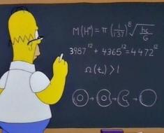 Simpsons-Higgs-boson